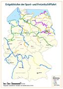 Karte Wasserpacht
